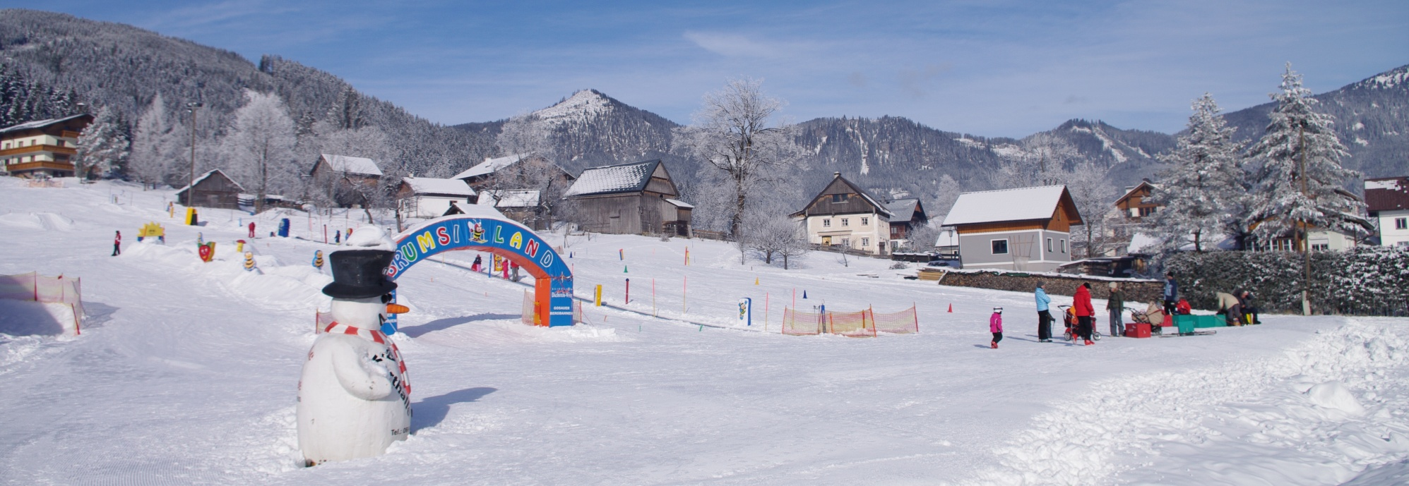 Ski resort Gosau, Dachstein West, Ausztria